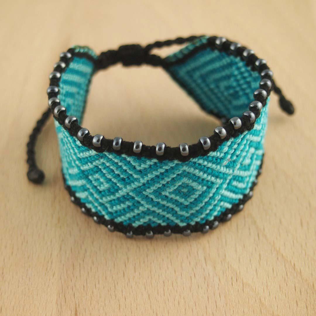 bracelet perle macrame
