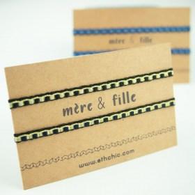 Bracelets 40 fils faits main fins | Pava : Carte mère & fille