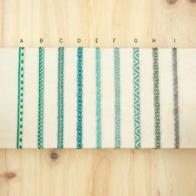 Bracelets 40 fils faits main fins solides | Pava REV : Turquoise - Verts