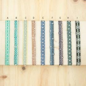 Bracelets 80 fils et perles en argent 925 faits main fins | Pibi REV : Multicolore