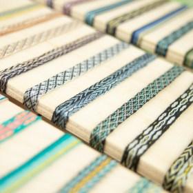 Bracelets 80 fils faits main fins | Pava REV : Bleus - Verts