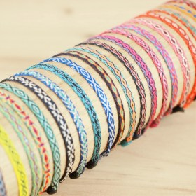 Bracelets 40 fils Pava KIDS faits main fins | 1 - 10 ans
