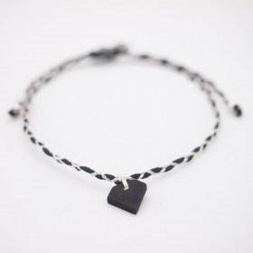Bracelets fins réglables en ivoire végétal Tressi | Diamant
