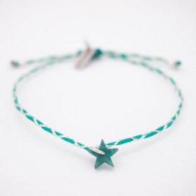 Bracelets fins réglables en ivoire végétal Tressi | Étoile