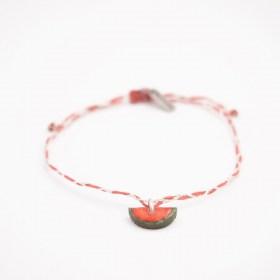 Bracelets fins réglables en calebasse séchée Toty | Pastèque