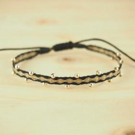 Bracelets Telar 40 fils  et Argent PIBI 2 Aire y Tierra faits main