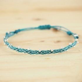 Bracelets Telar 40 fils  et Argent PIBI 2 Mar faits main