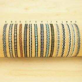Bracelets Telar 40 fils PAVA Aire faits main