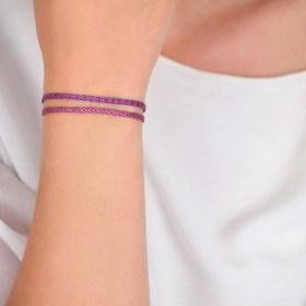Bracelets Telar 40 fils PAVA Fuego faits main .