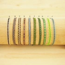 Bracelets Telar 40 fils PAVA Tierra faits main