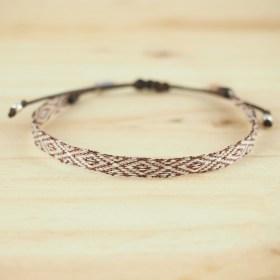 Bracelets Telar 64 fils PAVA B faits main fins
