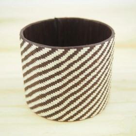 Bracelet fibre caña flecha FUMAREL NOIR 50