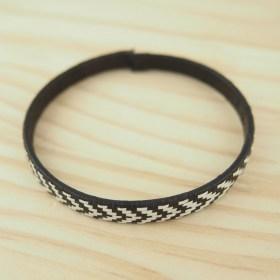 Bracelet fibre naturelle FUMAREL 5B éthique fait main