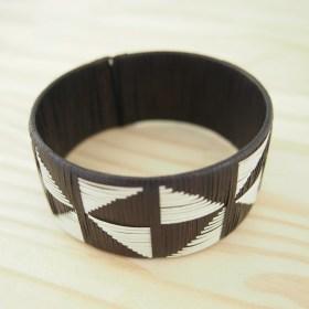 Bracelet fibre naturelle FUMAREL 25K éthique fait main