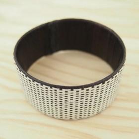 Bracelet fibre naturelle FUMAREL 25D éthique fait main