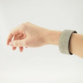 Bracelet fibre naturelle FUMAREL flèches fait main 25B