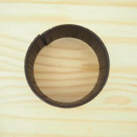 Bracelet fibre naturelle FUMAREL 25J  jaune éthique fait main