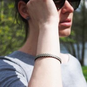 Bracelet fibre naturelle FUMAREL 5A éthique fait main