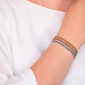 Bracelet fin miyuki fait main couleurs