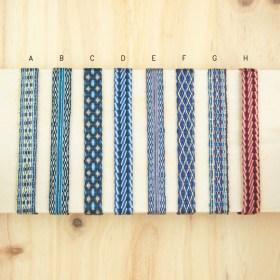 Bracelets 120 fils faits main | Pava REV : Bleus - Rouges