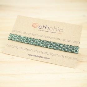 Bracelets 120 fils faits main solides | Pava REV : Marrons - Verts - Turquoise