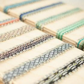 Bracelets 80 fils et argent 925 faits main fins | Piny REV : Verts - Bleus