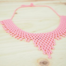 Collier perles Okamita Rose